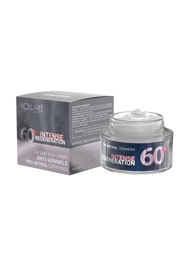 Vollare +60 Yaş Kırışıklık Gidermeye Yardımcı Krem Genç Görünümü Destekleyici Yüz Kremi 50ml Renksiz